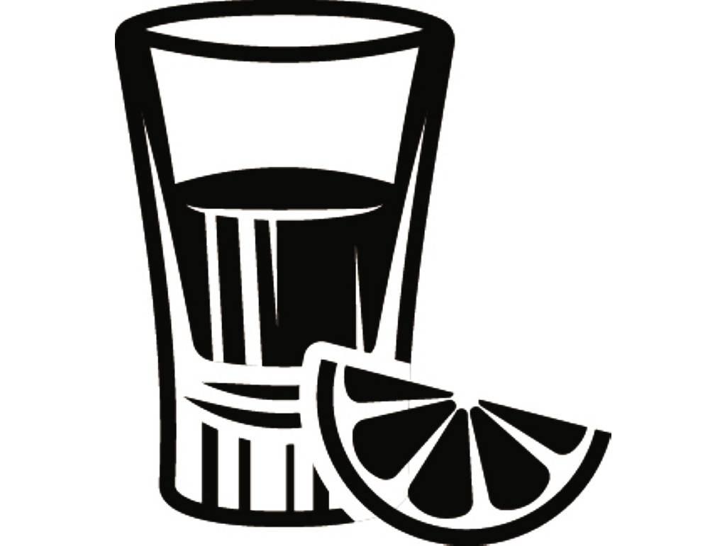 Shot glass clipart Fresh Shot Glass 1 Mixed Drink Alcohol.