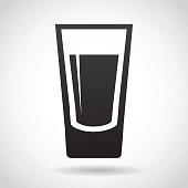 Shot Glass Clip Art, Vector Shot Glass.