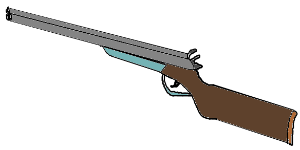 Shotgun Clipart.