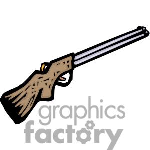 3 shotguns clip art images.