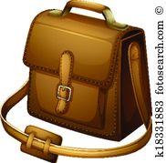 Shoulder bag Clipart and Illustration. 355 shoulder bag clip art.