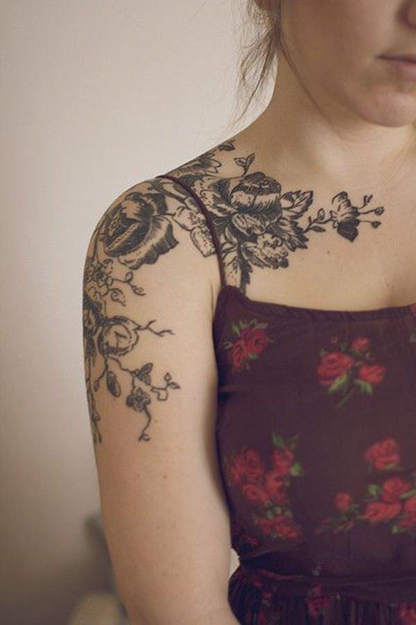 70 Magnificent Shoulder Tattoo Designs.