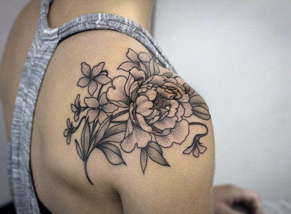 25+ best ideas about Shoulder Tattoo on Pinterest.
