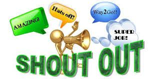 Shout Outs to You!.