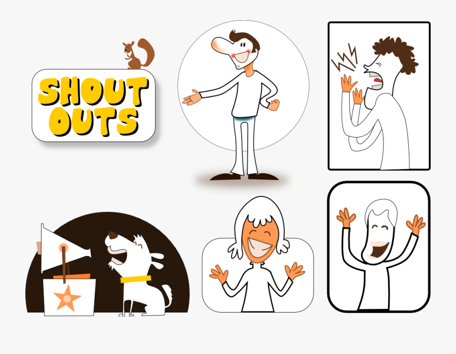 Shout Out Clip Art , Free Transparent Clipart.