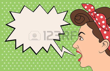7,210 Angry Woman Stock Vector Illustration And Royalty Free Angry.