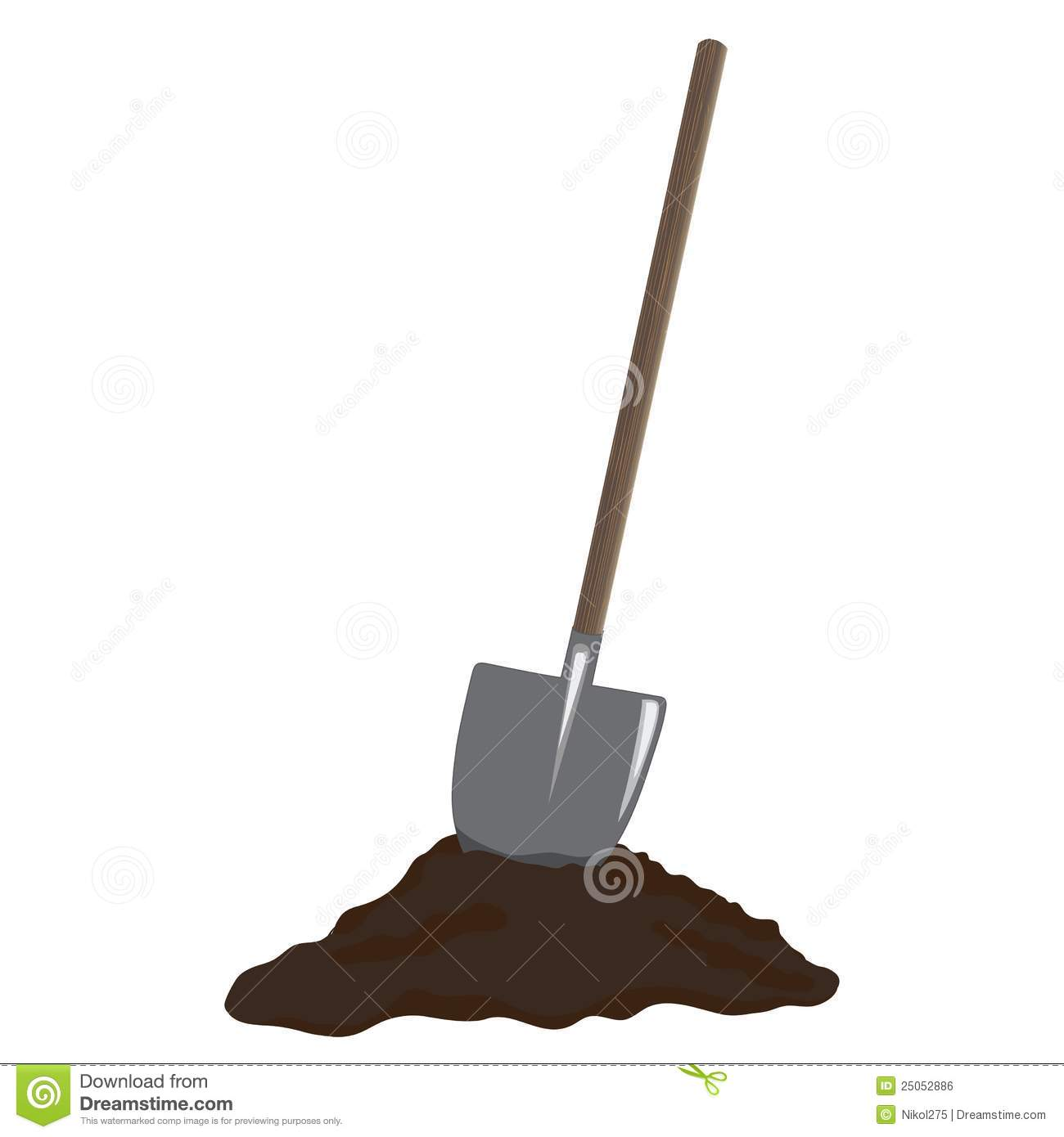 737 Shovel free clipart.