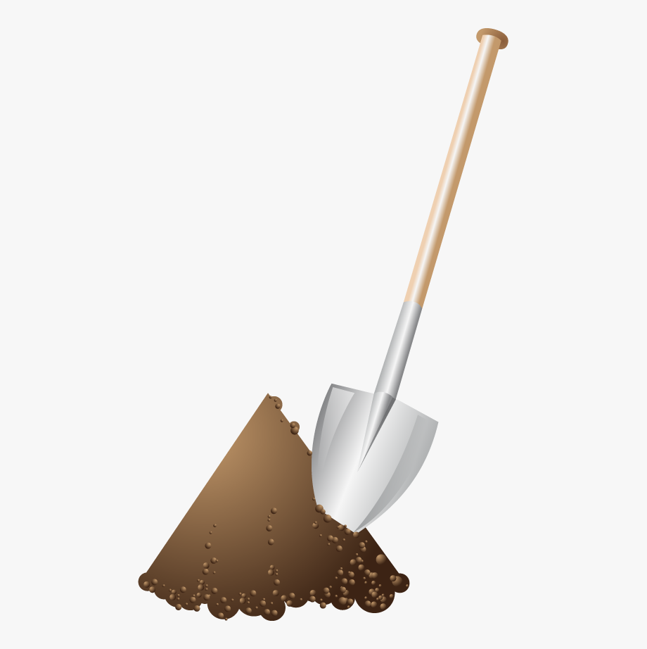 Animation Shovel Clipart.