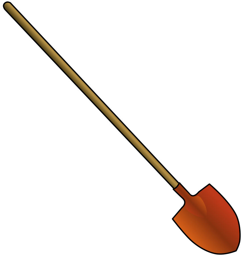 Snow Shovel Clipart.