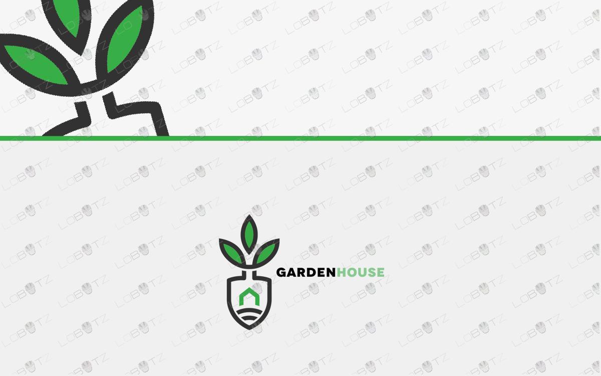 Premade Shovel Logo.