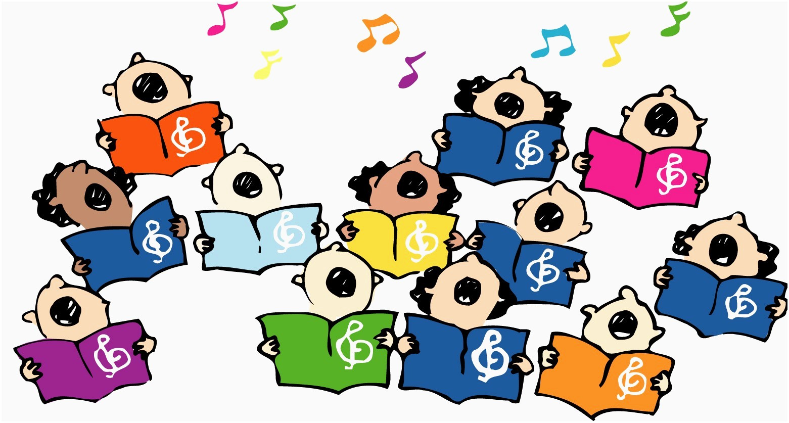 1727 Choir free clipart.