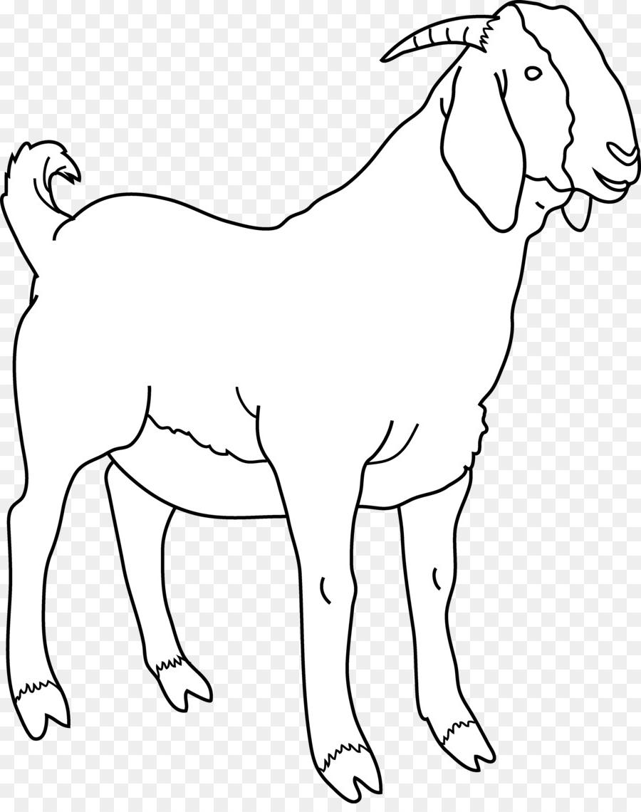 Unique Goat Clip Art Black And White Cdr » Free Vector Art.