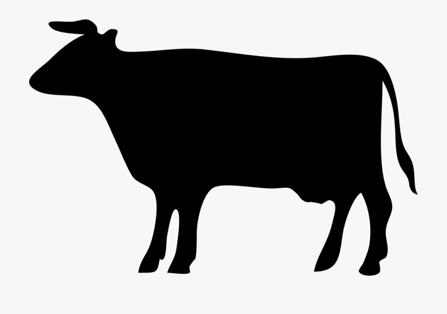 Cows clipart silhouette, Cows silhouette Transparent FREE.
