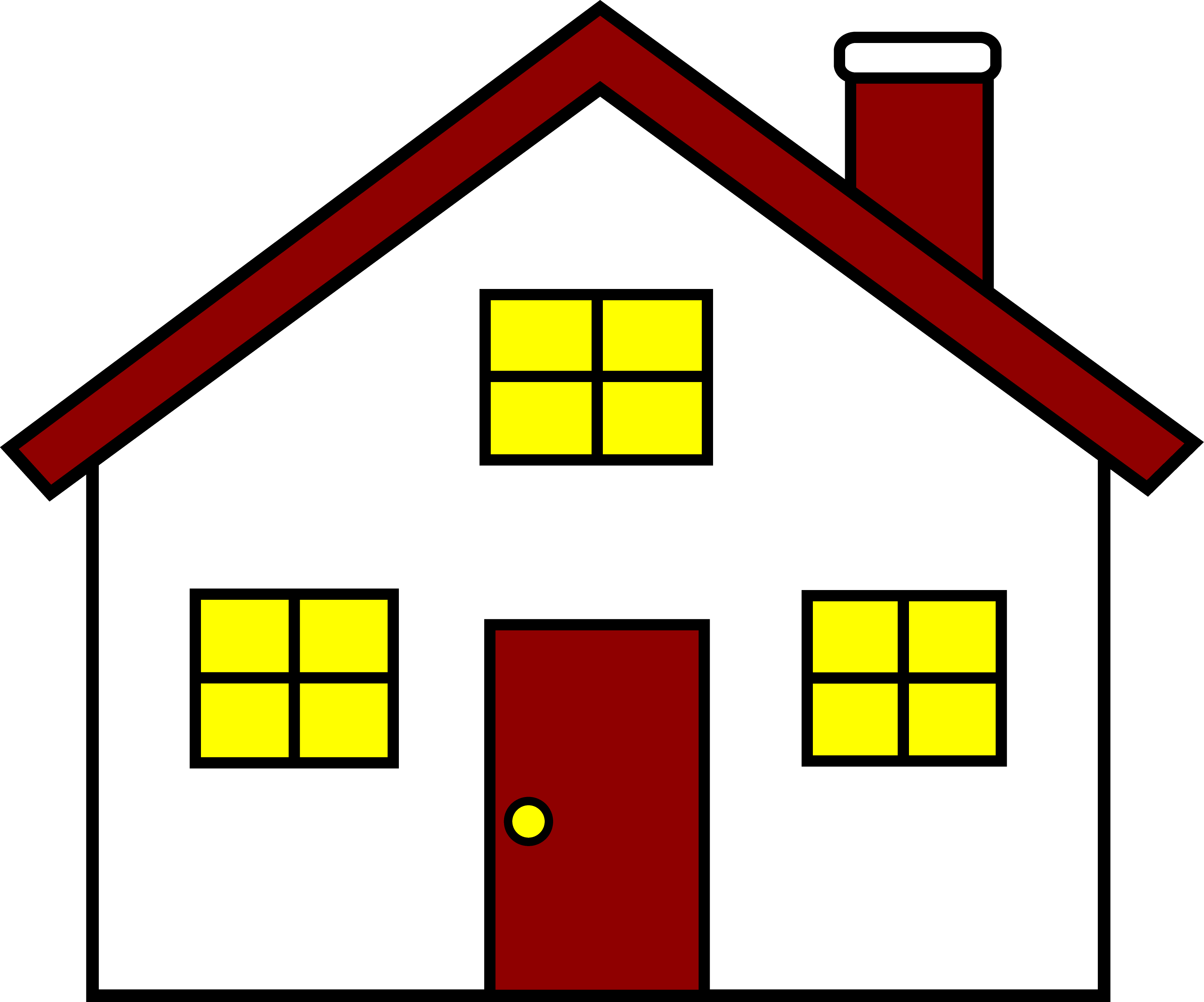 clipart picture of house - Clipground