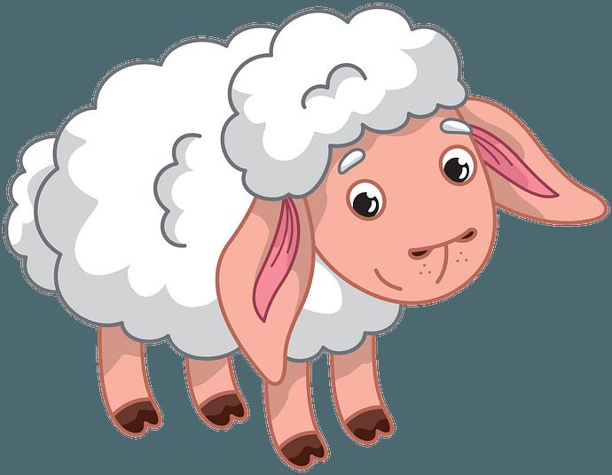 Lamb clipart. Free download..