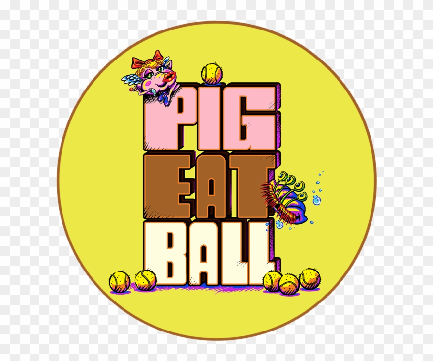 First Off, We Have A New Logo For Pig Eat Ball.