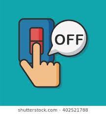 Image result for switch off clipart.