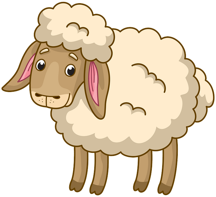 Sheep clipart. Free download..