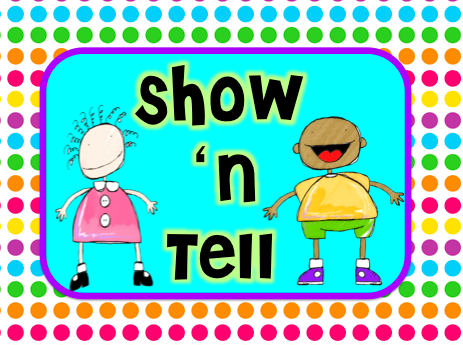 Show N Tell Clipart.
