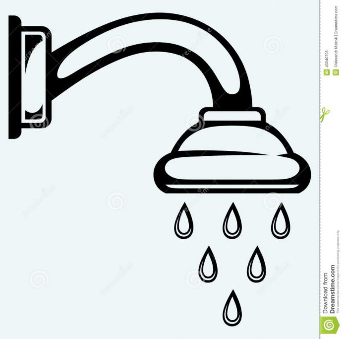 Collection of Shower clipart.