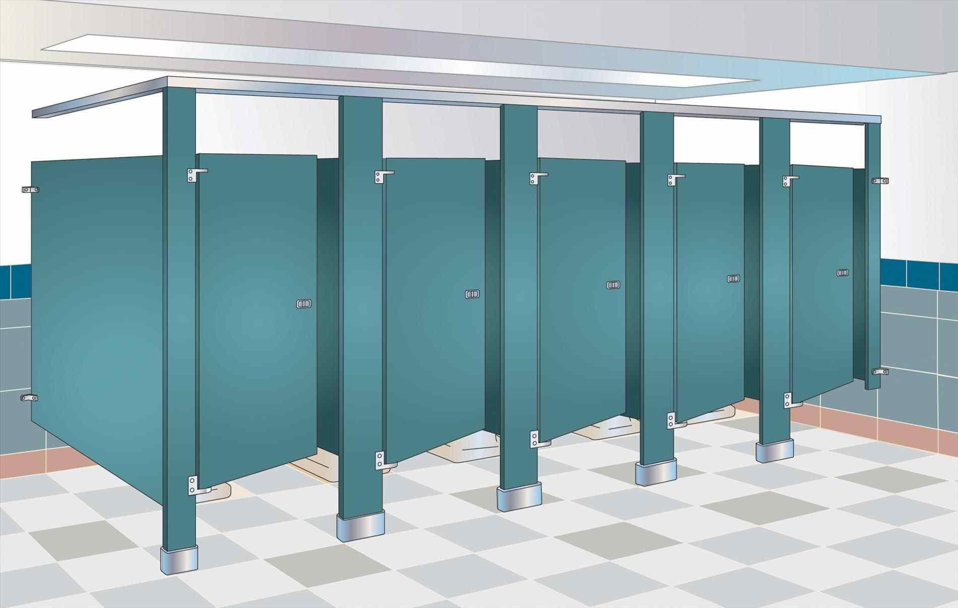 Bathroom Stall Clipart.