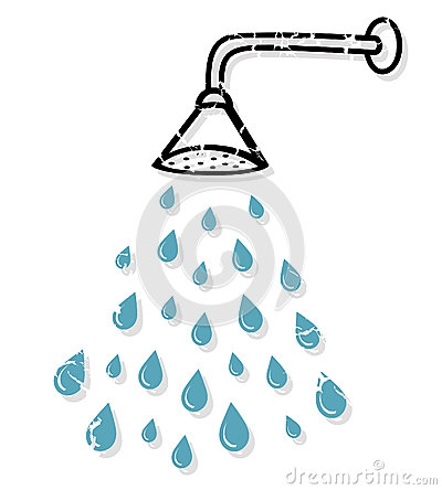 Shower Time Clipart#2123753.