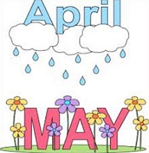 Free May Flowers Clipart.