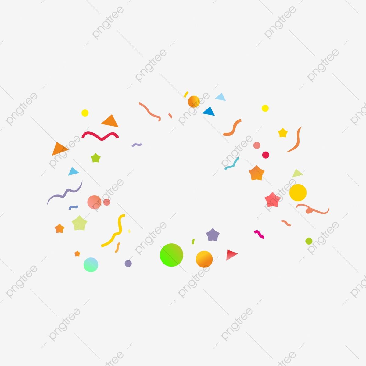 Color Shredded Paper, Color Clipart, Color, Shredding PNG.