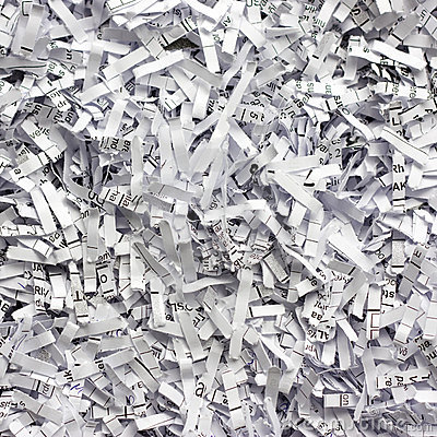 Shredded Paper Royalty Free Stock Images.