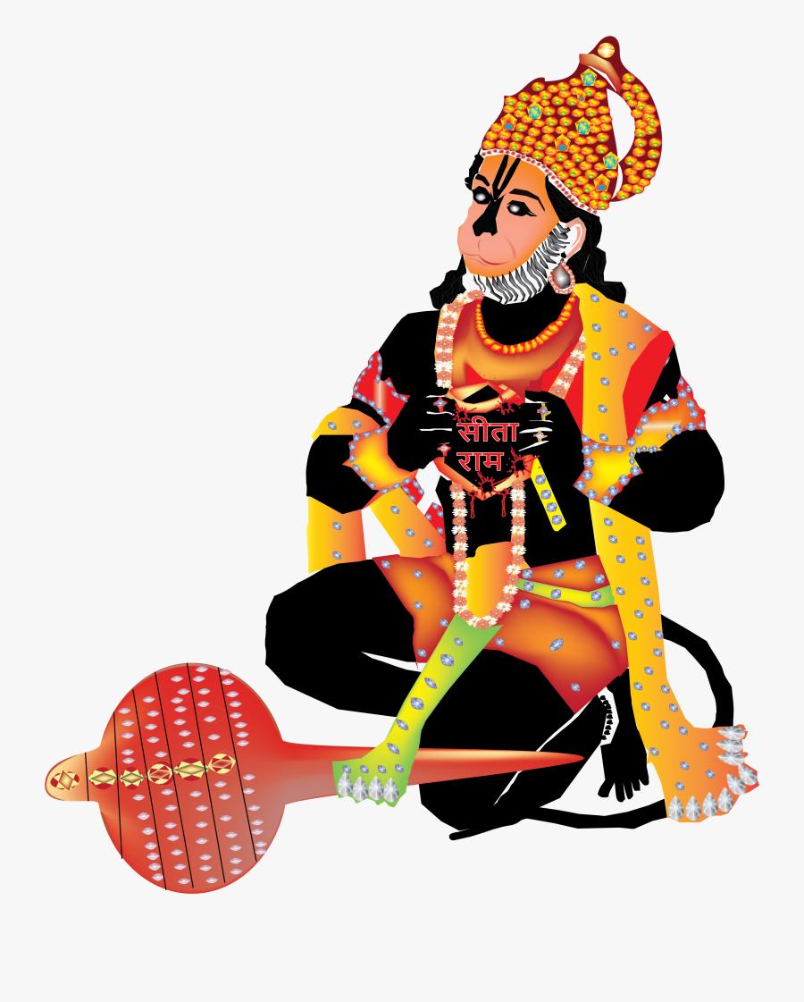 Jai Shree Ram Jai Bala Ji Digital Art.