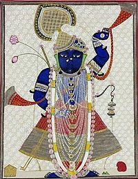Krishna clipart shreenathji #6.