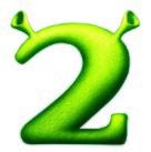 Shrek 2 (2004) logo.