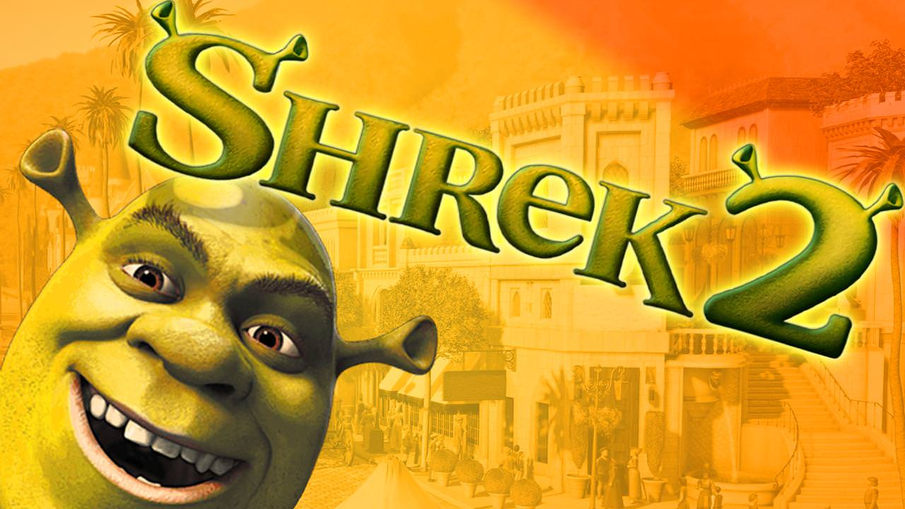 I tried to remake the Shrek 2 game artwork.