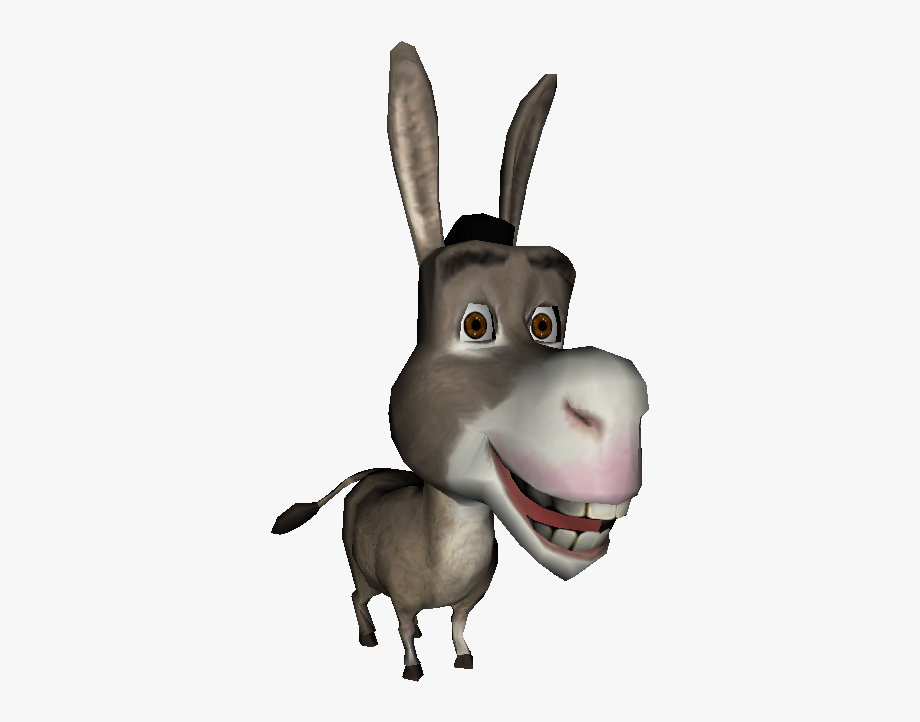 Donkey From Shrek Transparent , Transparent Cartoon, Free.