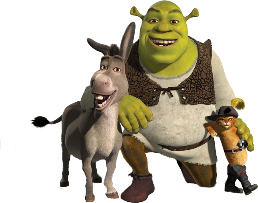 Shrek PNG images free download.