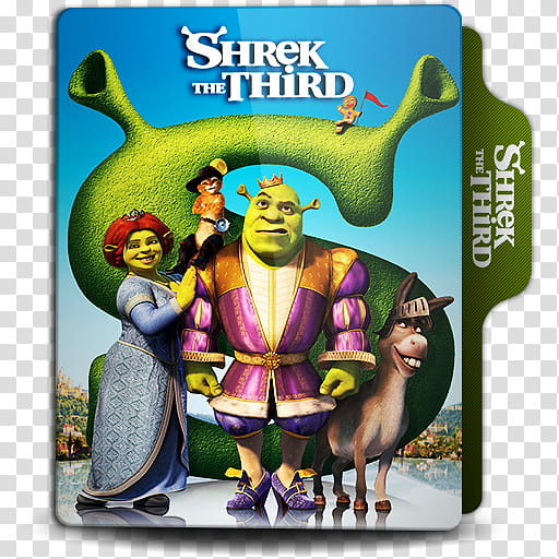 Animation folder icon , Shrek the Third. () transparent.
