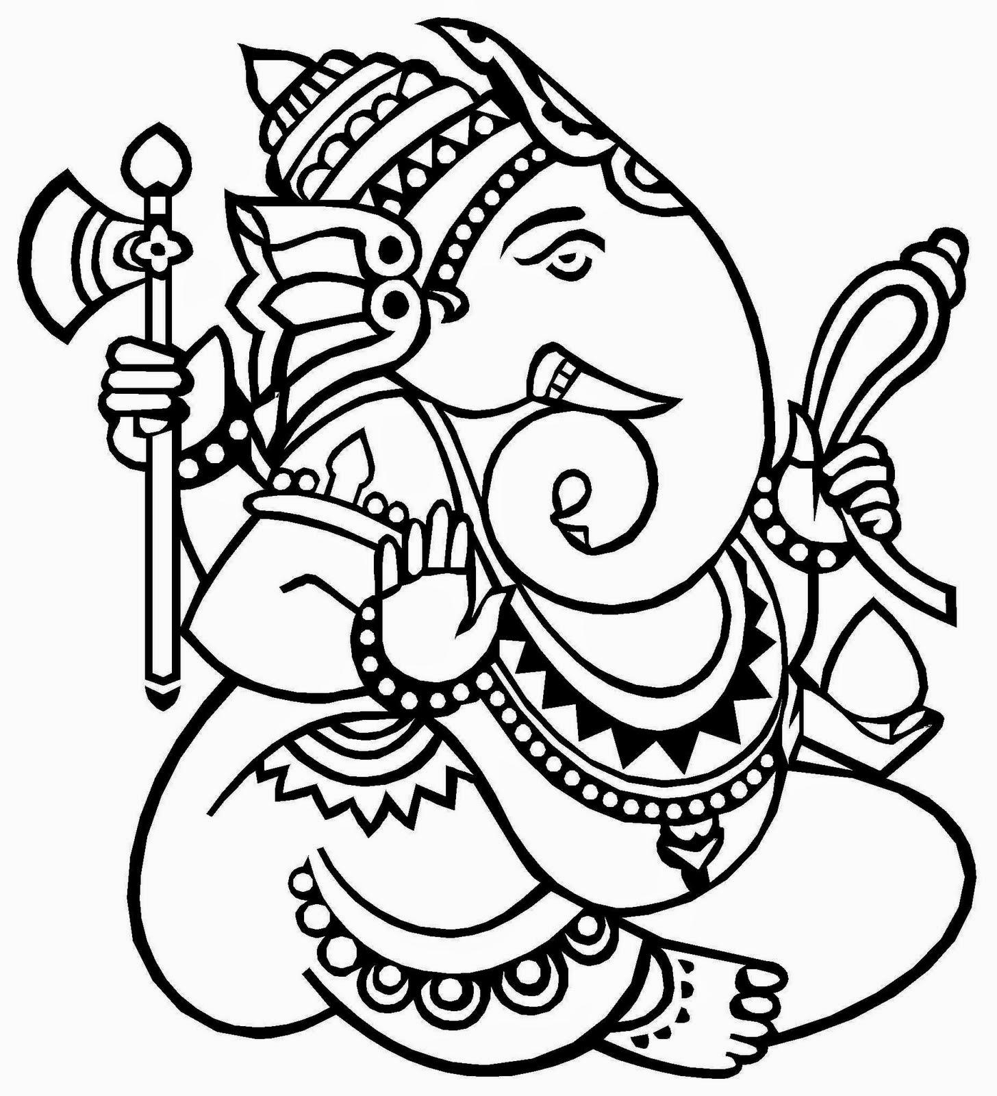 Shri Ganesh Sketch.