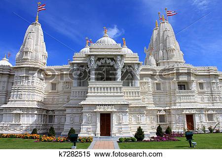 Stock Image of Shri Swaminarayan Mandir k7282515.