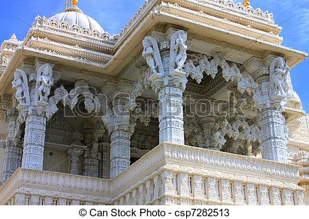 Stock Photos of Shri Swaminarayan Mandir.
