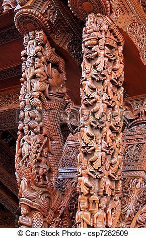 Stock Photographs of Shri Swaminarayan Mandir.