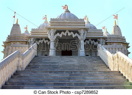 Stock Photo of Shri Swaminarayan Mandir.
