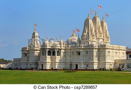 Picture of Shri Swaminarayan Mandir.