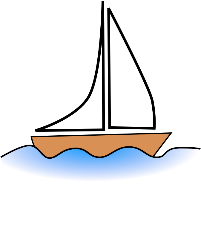3451 Boat free clipart.