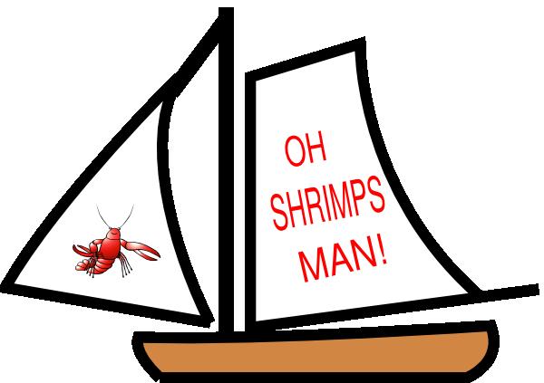 Shrimp boats clipart #16