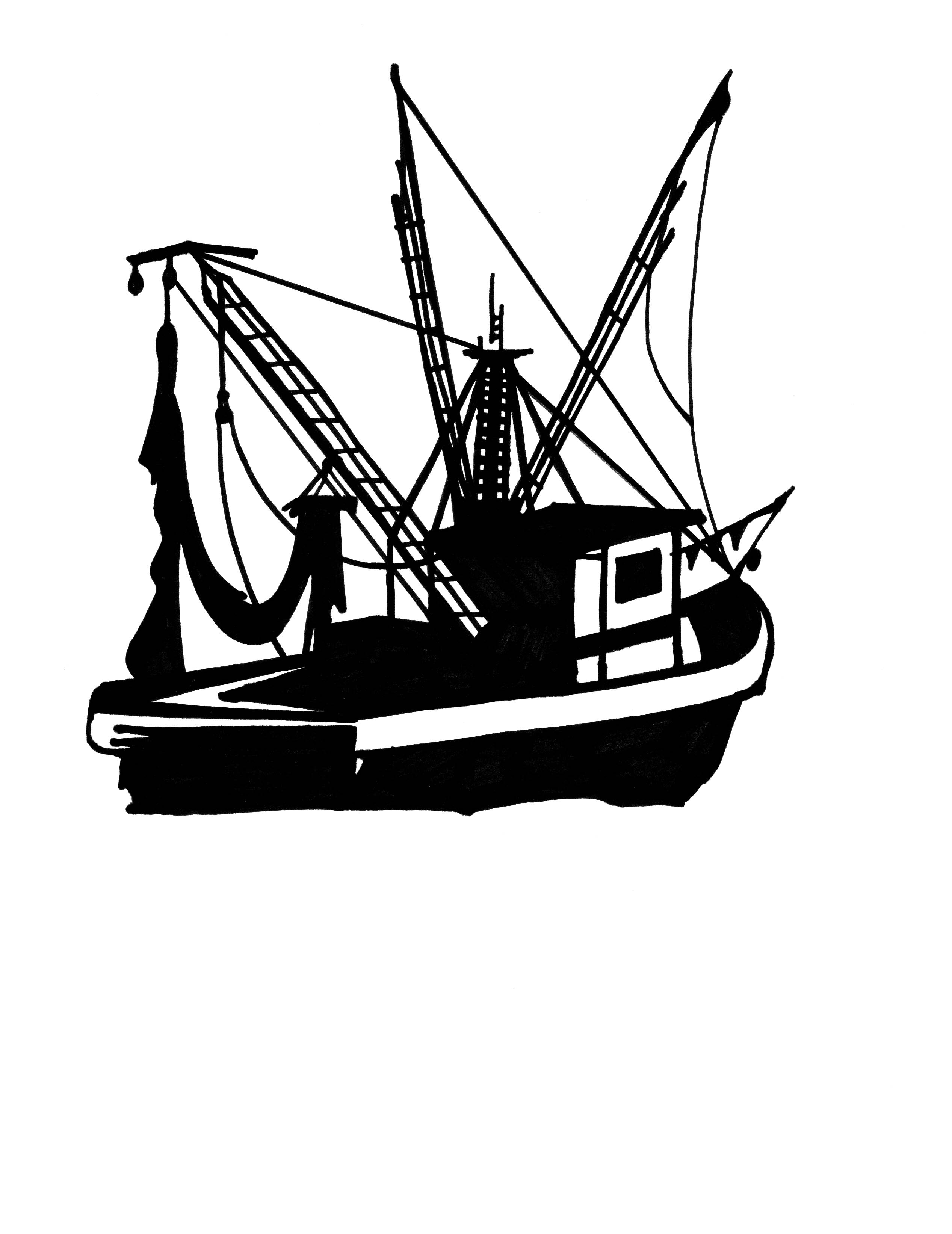 Shrimp Boats Clipart Clipground