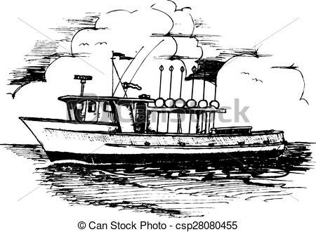 Shrimp boat Clip Art Vector Graphics. 62 Shrimp boat EPS clipart.