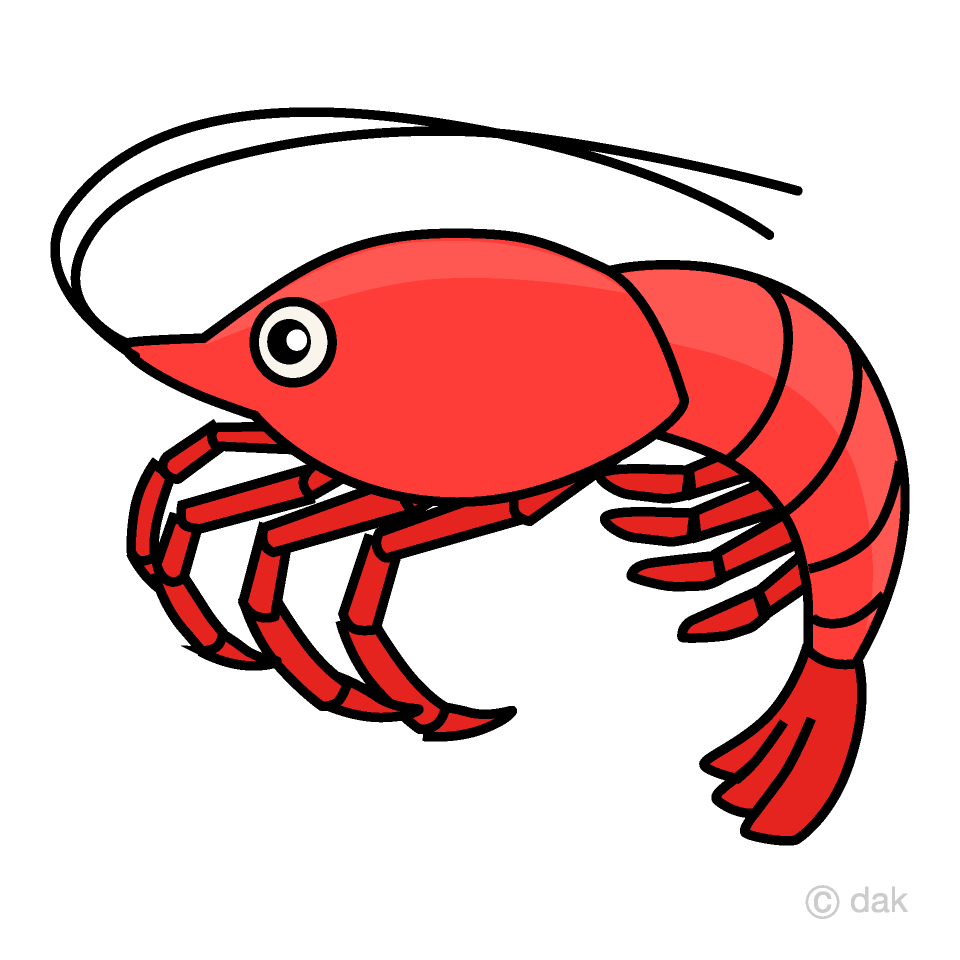 Shrimp Clipart Free Picture|Illustoon.