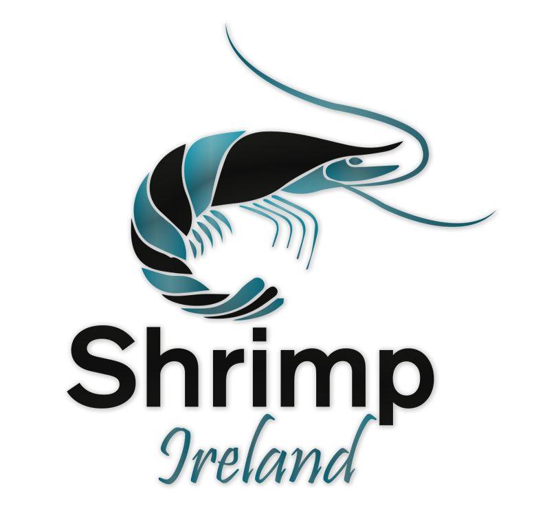 Shrimp Ireland Logo Design.