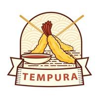 Tempura Vector Image.
