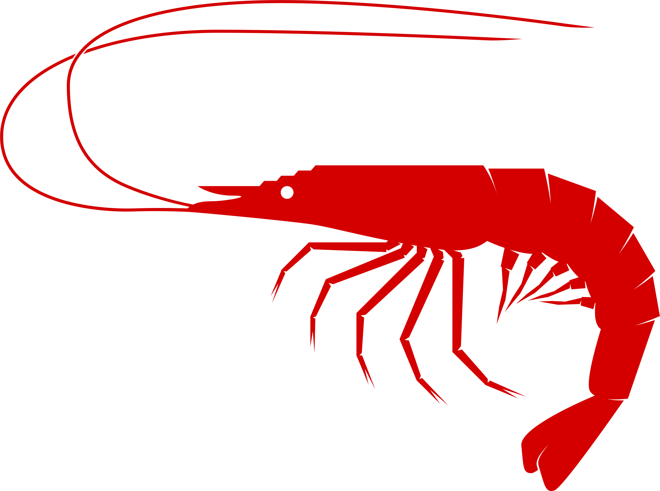 Shrimp Clipart Transparent.